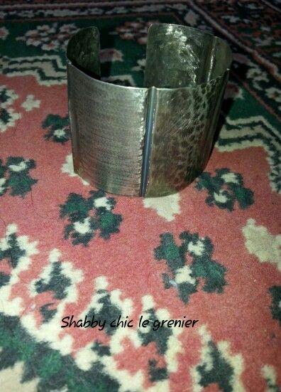 Handmade German silver bracelet. Bracciale in argento tedesco,  realizzato a mano. https://m.facebook.com/profile.php?id=675772772446917