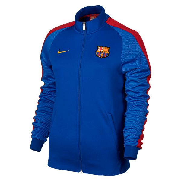 Barcelona NSW N98 Women's Track Jacket   | $99.99 | Holiday Gift & Stocking Stuffer ideas for the FC Barcelona fan at WorldSoccerShop.com