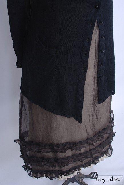 The Maplehurst Frock beneath the Fairholme Jacket by Ivey Abitz