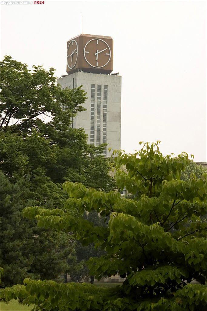 서울과학기술대학교 시계탑 Canon 30D