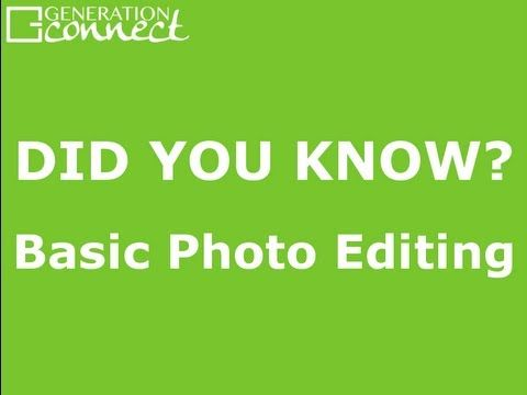 Did you know it's easy to edit photos with one tap on your iPad or iPhone to rotate, enhance, crop, or even remove red eye?
