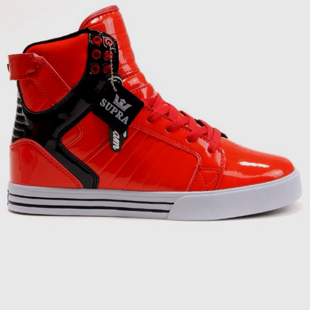 Supra shoes red