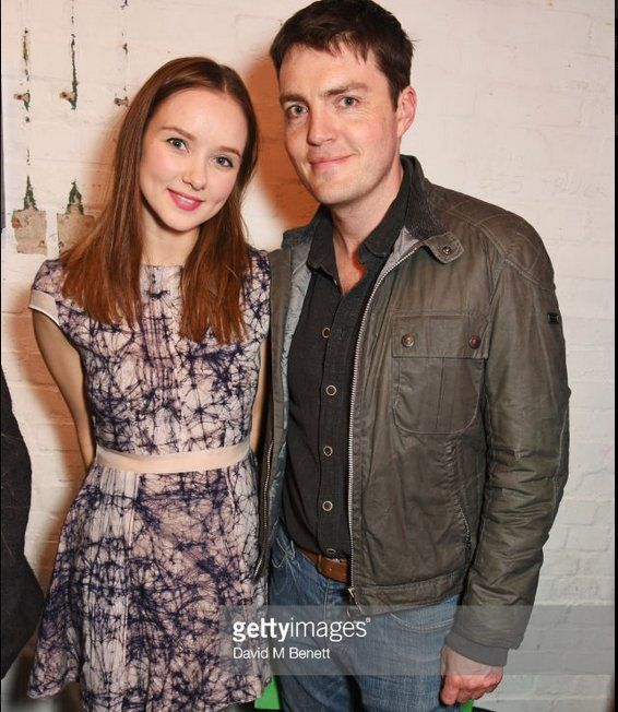 Alexandra Dowling and Tom Burke at the press night after party for 'A Lie Of The Mind' at The Southwark Playhouse. May 8, 2017. London.  Credits: Getty Images