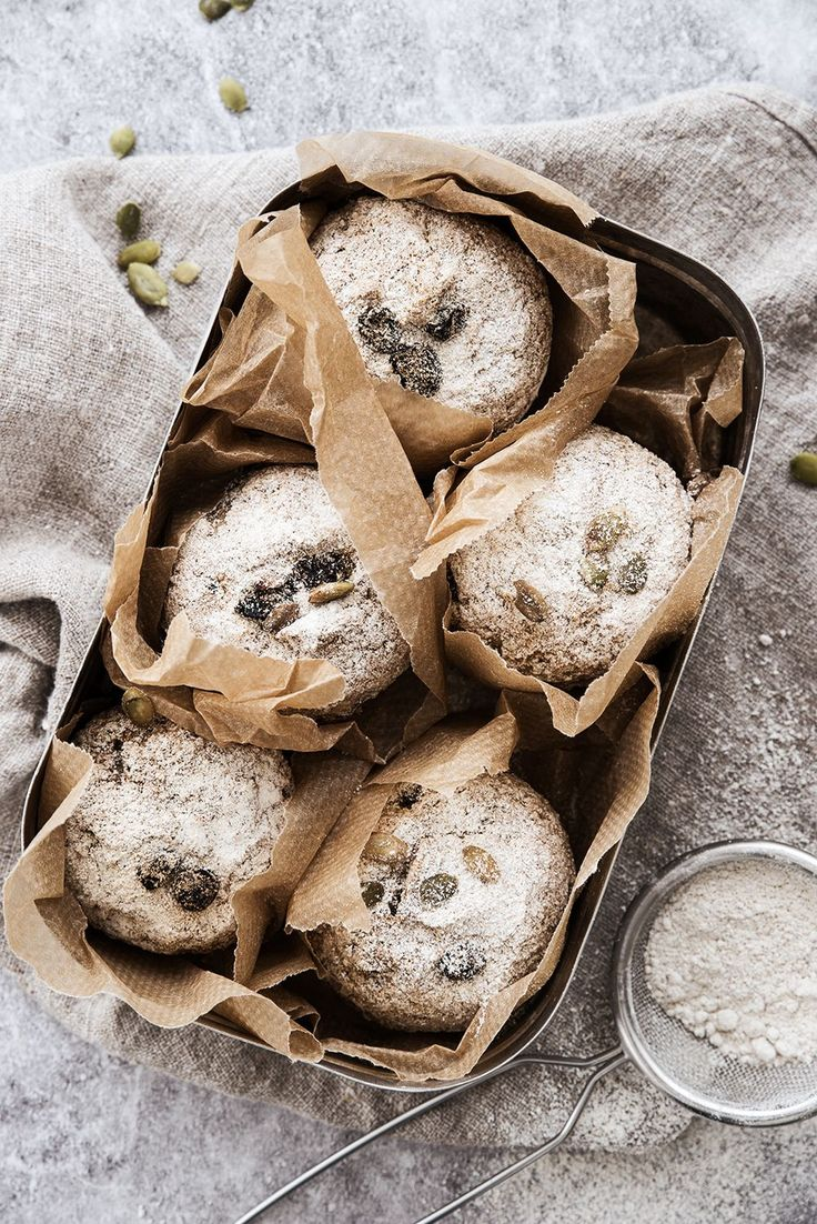 Scandinavian Wellness - Glutenfria frukostfrallor i muffinsform