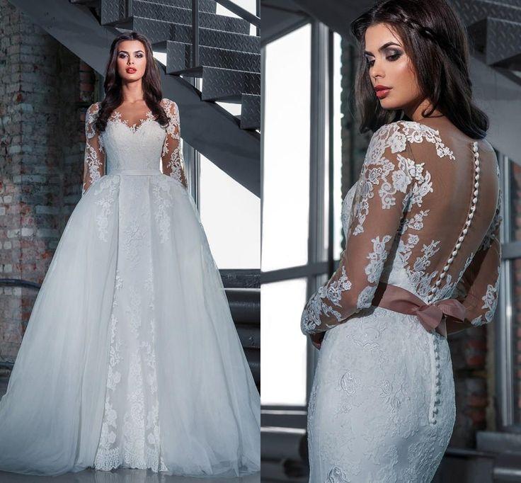 187 best Wedding Dress images on Pinterest | Wedding dressses, Dream ...