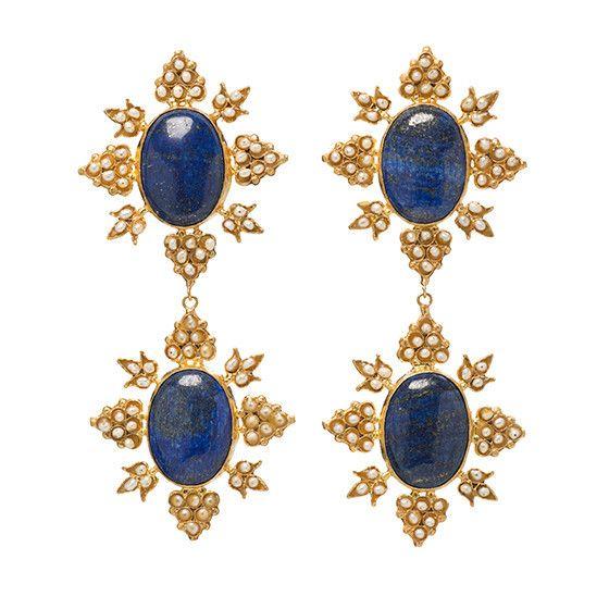 Medium Cleon Earrings Gold