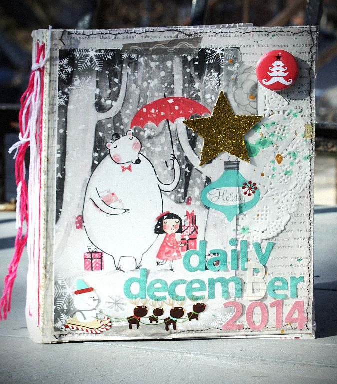 From Liliali Scrap  - December daily board My december daily 2014