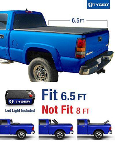 Tyger Auto TG-BC3C1009 Tri-Fold Pickup Tonneau Cover (Fits 88-07 Chevy/GMC Silverado/Sierra (Classic) 6.5 feet (78 inch)) - https://www.caraccessoriesonlinemarket.com/tyger-auto-tg-bc3c1009-tri-fold-pickup-tonneau-cover-fits-88-07-chevygmc-silveradosierra-classic-6-5-feet-78-inch/  #8807, #AUTO, #ChevyGMC, #Classic, #Cover, #Feet, #Fits, #Inch, #Pickup, #SilveradoSierra, #TGBC3C1009, #Tonneau, #TriFold, #Tyger #Tonneau-Covers