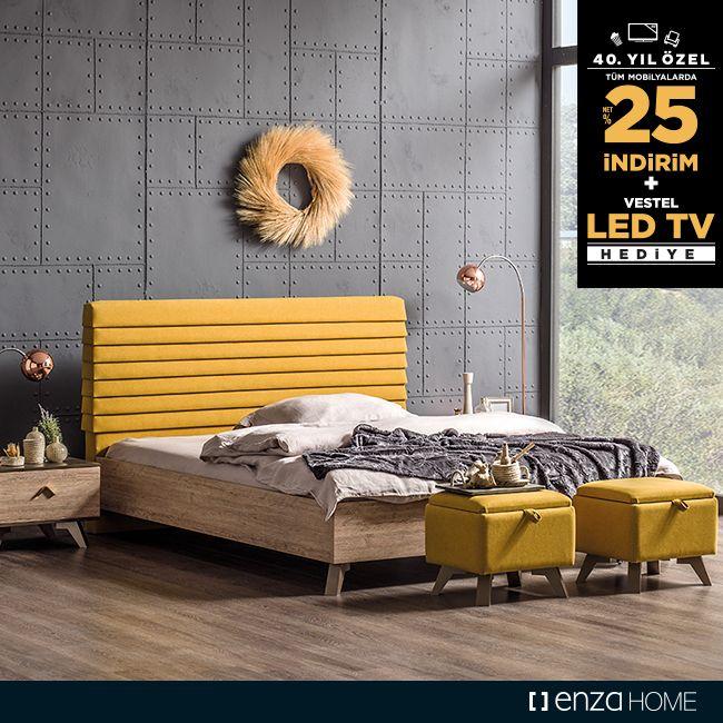 Enza Home, Yataş'ın 40. yıl kutlamalarına devam ediyor! Tüm mobilya ve halı alışverişlerinde NET %25 indirim!  Ayrıca 8.490 TL indirimli alışverişlerde 999 TL değerinde Vestel 82 ekran LED TV, 10.900 TL indirimli alışverişlerde ise 1.499 TL değerinde Vestel 102 ekran Smart LED TV hediyeleri de sizleri bekliyor!
