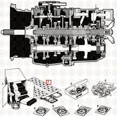 Kit Empacadura Caja Maxifuller