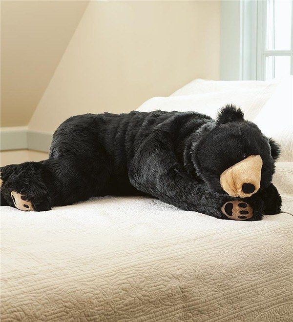 A giant bear body pillow for those times when you actually want to cuddle.