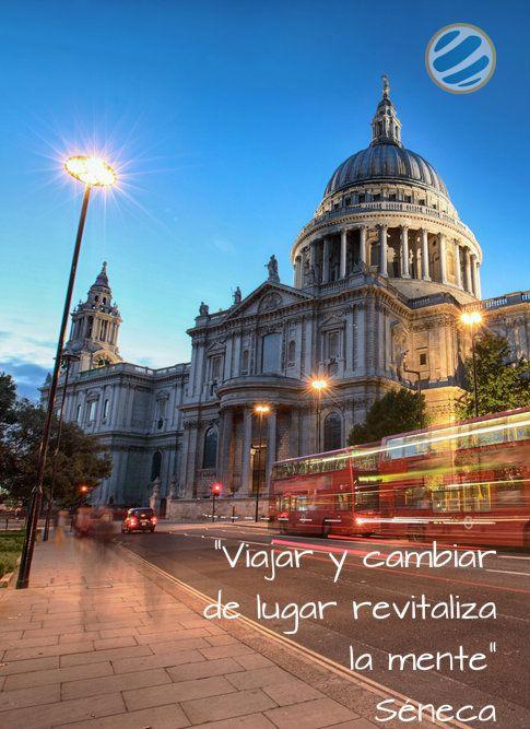 """"""" #Viajar y cambiar de lugar revitaliza la #mente """" Séneca"""