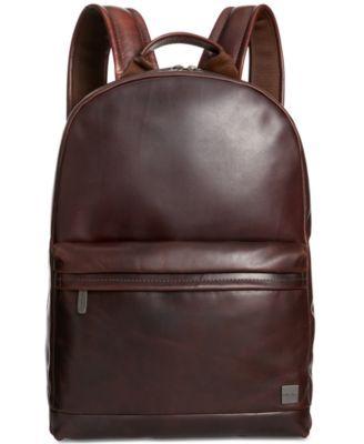 Knomo London Leather Laptop Backpack