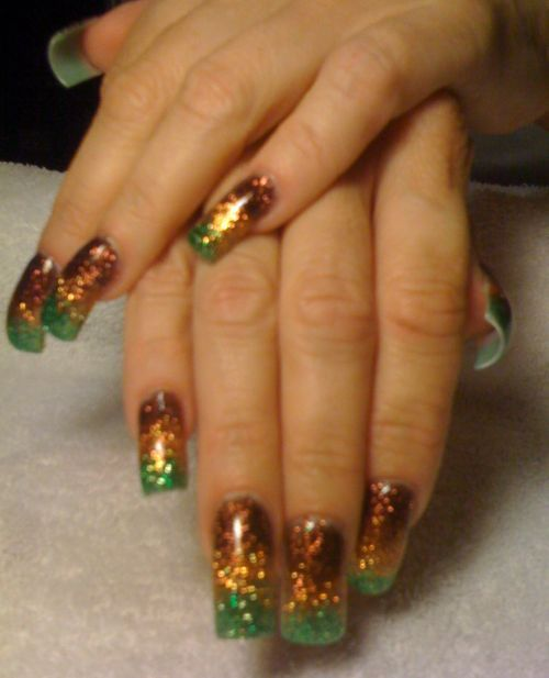Fall Glitter Nail Designs: 43 Best Images About Nails On Pinterest