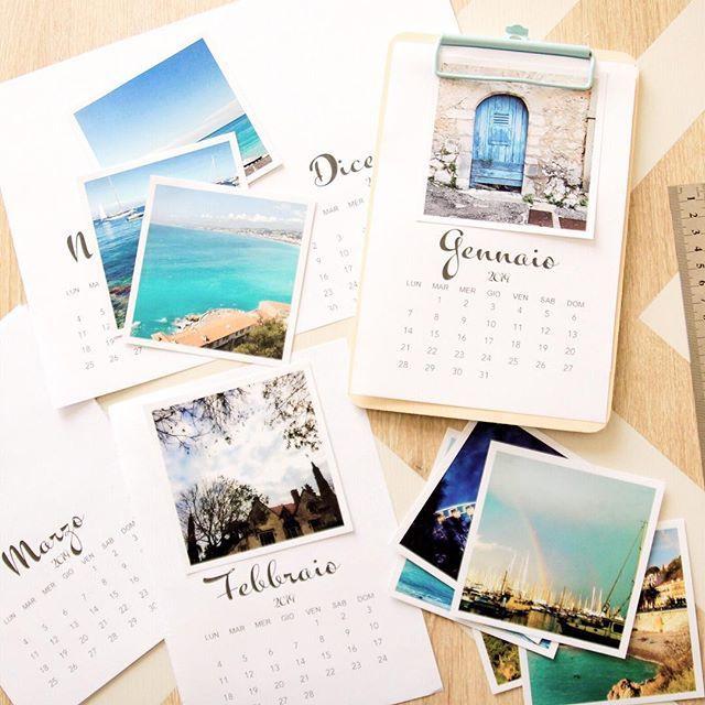 Calendario Con Foto Personali.Buondi Oggi Ho Un Regalo Per Voi I Fogli Per Stampare Il