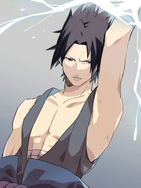 Alright Sasuke settle down you're going to make a whole in the ceiling or something|kiwi