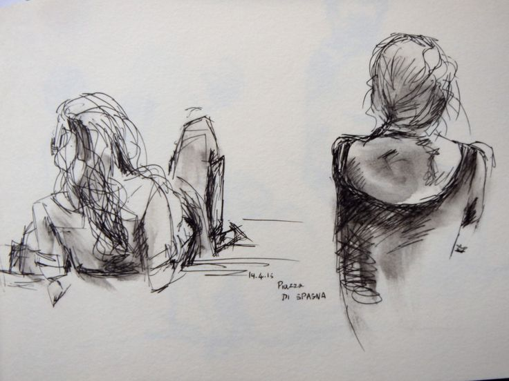 -women on the Spanish steps, Rome Lily Santamaria