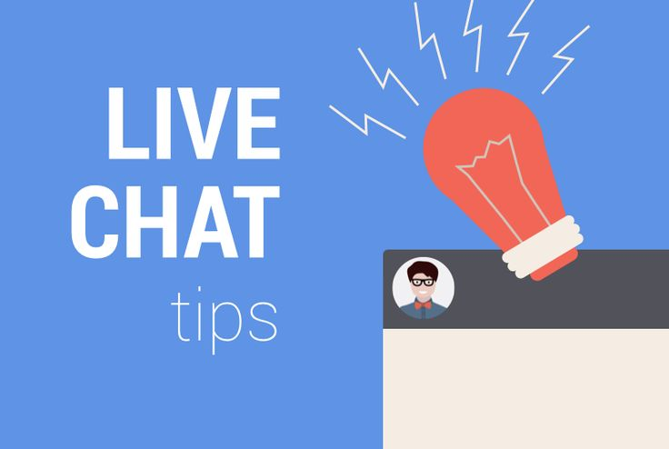 Cover for our live chat tips board. We pin simple tips to get started with live  chat!