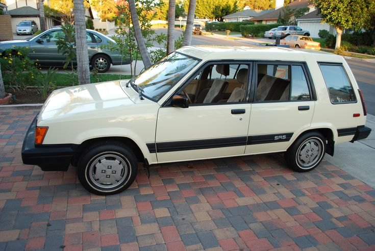 toyota tercel sr5 4wd wagon for sale | Toyota Tercel 4 Dr SR5 AWD Wagon, Side view - 1985 Toyota Tercel 4WD ...