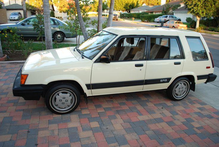 toyota tercel sr5 4wd wagon for sale | Toyota Tercel 4 Dr SR5 AWD Wagon, Side view - 1985 Toyota Tercel 4WD ...
