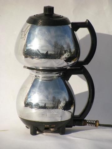 Vintage Electric Coffee Pots 16