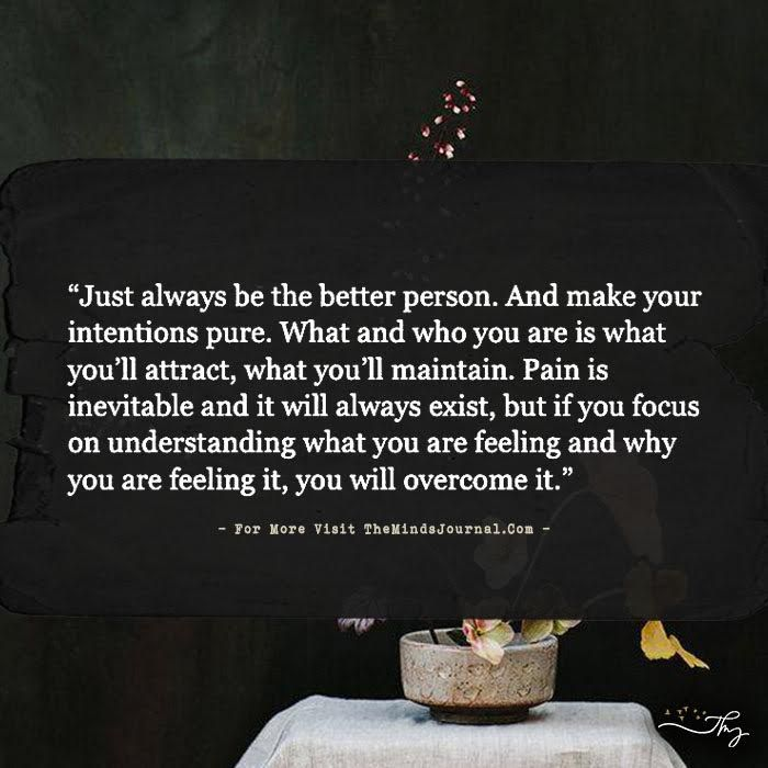 Just always be the better person. - http://themindsjournal.com/just-always-be-the-better-person/