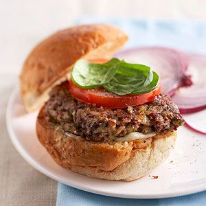 Red Beans and Rice Burgers From Better Homes and Gardens, ideas and improvement projects for your home and garden plus recipes and entertaining ideas.