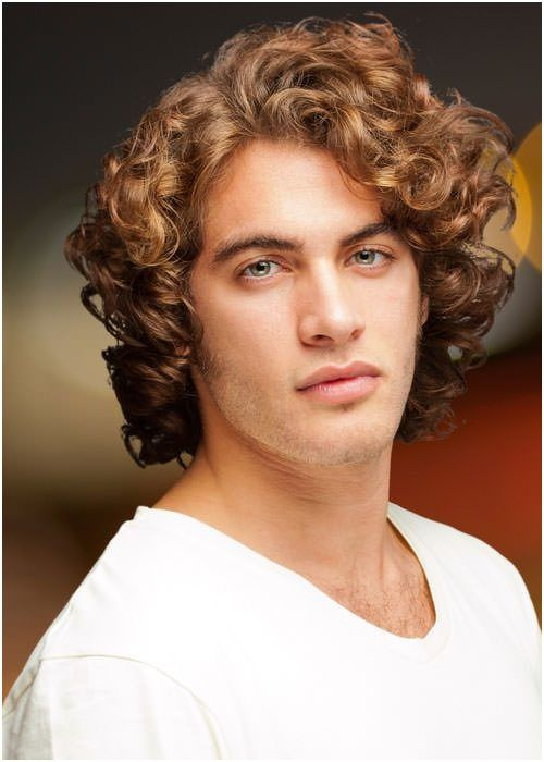28 Hairstyle For Thick Wavy Hair Men Fashion Mens Hairstyles Thick Hair Thick Hair Styles Long Hair Styles Men