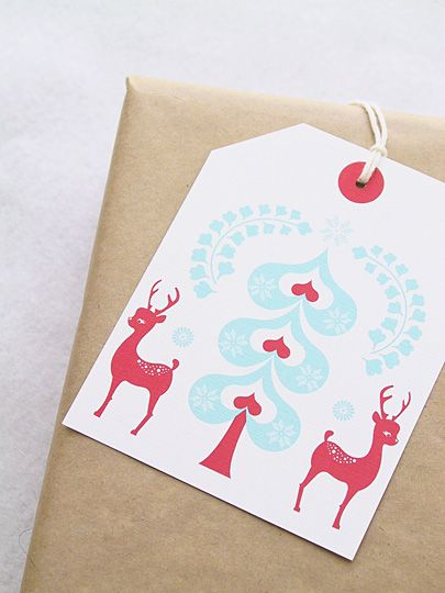 christmas gift tags {print it}
