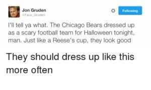 Jon Gruden:  The Next Chicago Bears Head Coach?