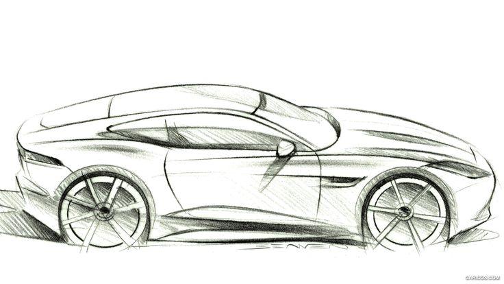 2015 Jaguar F-Type R Coupe  - Design Sketch, 1920x1080, #55 of 62