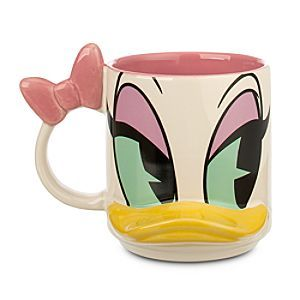 Disney Daisy Duck Dimensional Mug | Disney StoreDaisy Duck Dimensional Mug - Smoothe those ruffled feathers each morning with Daisy and her dimensional mug. As the fog lifts, the popped-out, pop art styling will fill your bill with laughter! Collect the whole Disney gang.