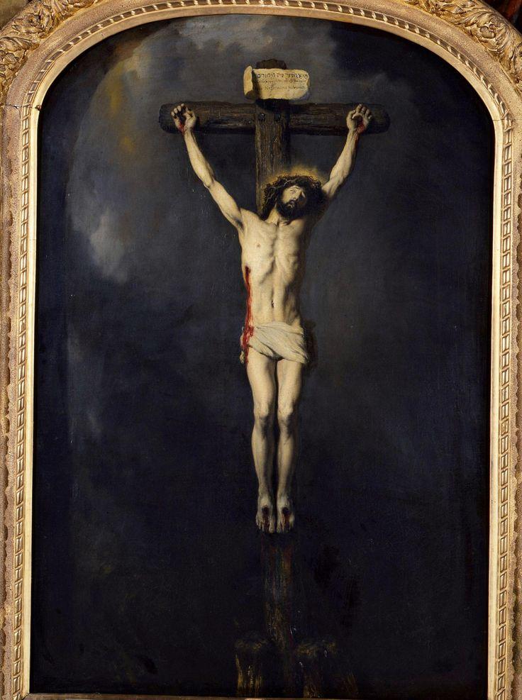 Jan Lievens (1607 – 1674) 1631 Christ on the Cross Oil on canvas – H. 129 cm; W. 84 cm – Musée des Beaux-Arts, Nancy, Inv. 94