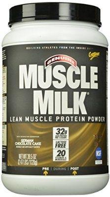 Muscle Milk German Chocolate Cake