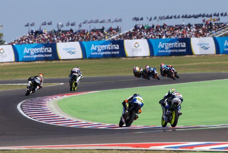 Ajo, Moto3 race, Argentinian MotoGP 2014