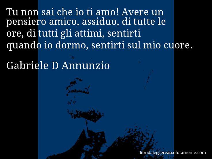 Cartolina con aforisma di Gabriele D Annunzio (13)