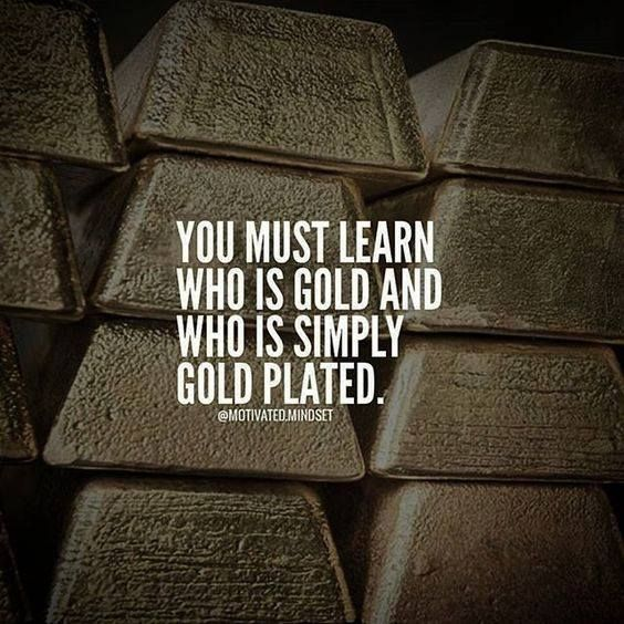 You must learn who is gold and who is gold plated.  http://ift.tt/1QWx9sf