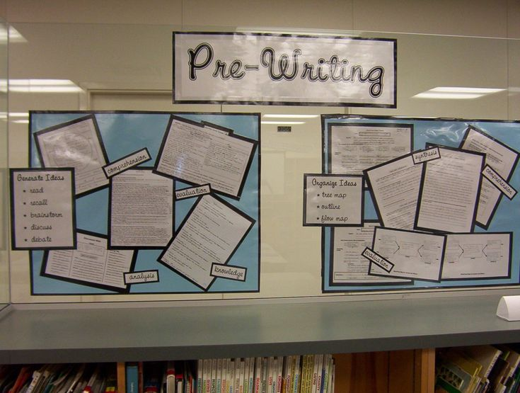 bulletin board ideas for high school | Sets appears in: • BULLETIN BOARD: Writing Assignment Samples ...