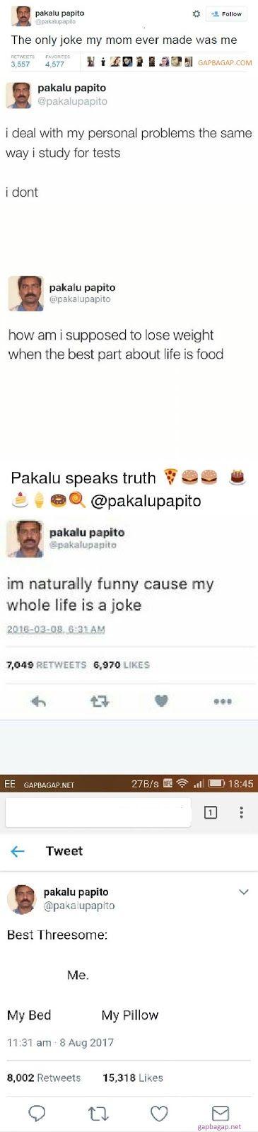 10+ Hilarious Tweets By Pakalu Papito