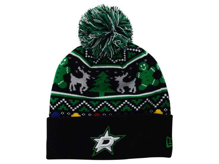 Dallas Stars New Era NHL Ugly Sweater Knit