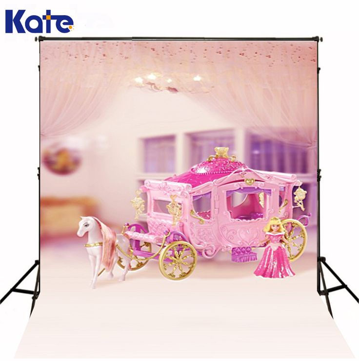 300Cm*200Cm(About 10Ft*6.5Ft) Mini Baby Child Photography Princess Carriage Background One Hundred Days Baby Photos Lk 3965 #Affiliate