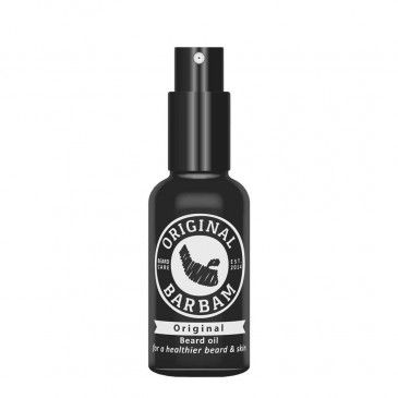 Original #Barbam beard oil is a must have for every type of beard. This oil ensures your beard gets the treatments it deserves. Original Barbam beard oil feeds the hair follicles and skin with essential oils, vitamins en minerals, which are essential for a healthy beard & to stimulate the beard growth. Original Barbam beardoil gives the beard a soft touch, fresh scent and a healthy look. The scent is mediterranean which contains pine needles and fresh citrus fruits with green tea extract.