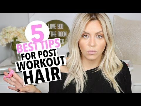 The 5 Best Tips for Post Workout Hair! - ellebangs