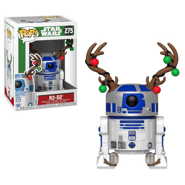 Funko Pop Star Wars Holiday R2d2 With Antlers Funko Pop Star Wars Star Wars Christmas Star Wars Quotes