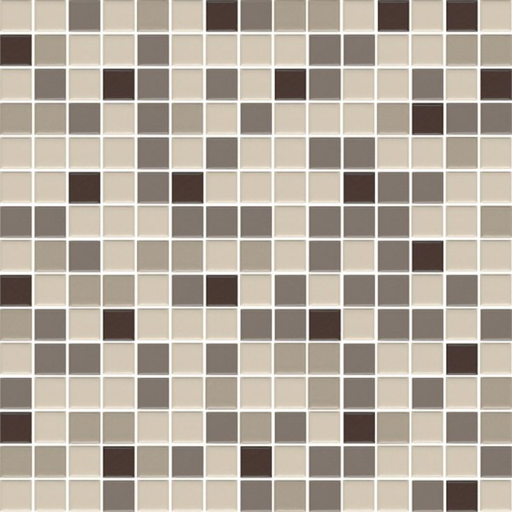 Tile Mosaic Sheet Thaicera 19x19 Silk Mix 06s Mm I N