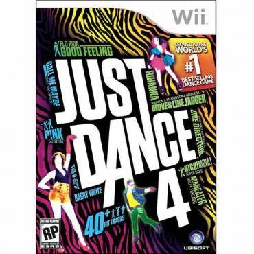 Jogo Just Dance 4 para Nintendo Wii