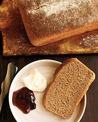 This soft and lightly sweet bread is made with honey and flour that's made from whole wheat spelt, a nutty grain that can be tolerated by people with wheat allergies.