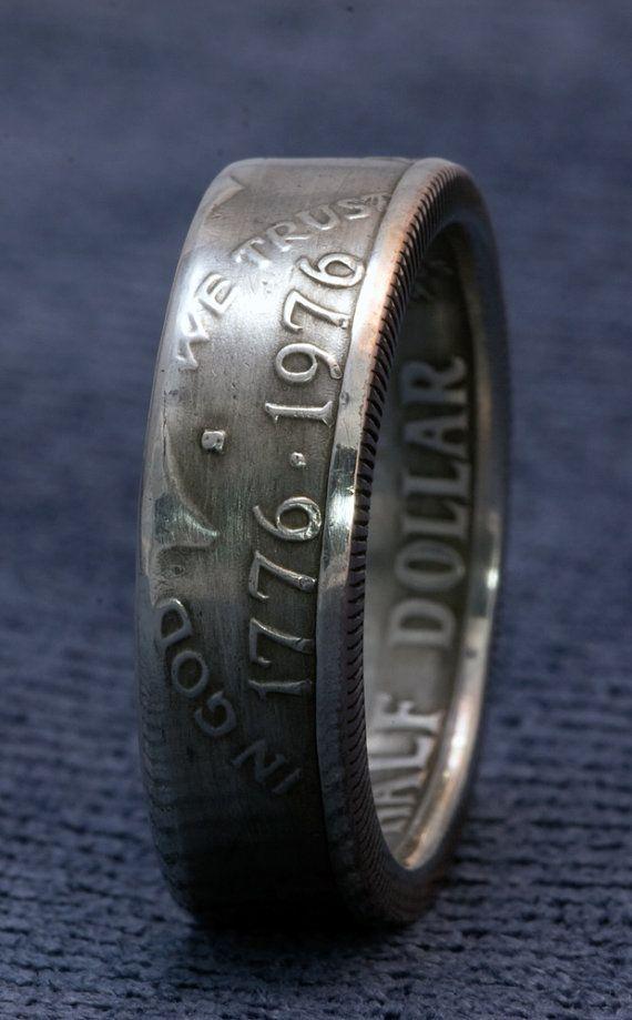 1976 Silver JFK Kennedy 40% Silver US Half Dollar by NashvilleMint