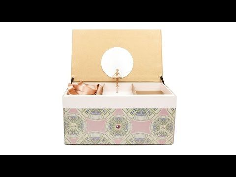 A box entirely handmade. Each box takes one day to be created. Only 50 were made for the first Josefinas Moscow. http://josefinas.pt/en/moscow. A Dream box inspired by the incredible Ballet Russes. This is a music box, exclusively made for an unforgeable pair of shoes. #JosefinasPortugal