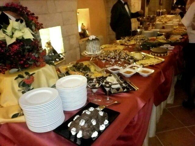 Buffet matrimonio natalizio